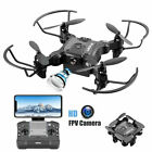 Mini Drone 4K 1080P HD Camera WiFi Fpv with 3battery Foldable Quadcopter NEW