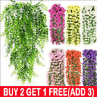 Artificial Fake Hanging Flowers Vine Plants Home Garden Indoor Outdoor Decor Au