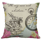 Alice In Wonderland Quote Vintage Dictionary Page Pillow Covers for makeover