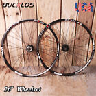 BUCKLOS MTB Bike Aluminum Rim Wheels QR 26 inch Disc Brake 8-10Speed Wheelset US
