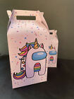 Among Us Unicorn Birthday Supply Party Gift/Favor Bag/Cupcake Wrapper