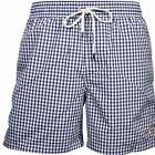 Men's Polo Ralph Lauren Gingham Check Swim Shorts, Newport Navy
