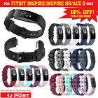Fitbit Inspire/inspire Hr/ace 2 Band Replacement Silicone Strap Sports Wristband