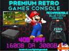 Super fast Premium Retro Games Console V3 - Plug & Play,  Arcade Machine HDMI