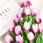 10-20 head Real Touch Artificial Tulip Fake Flower Wedding Home & Party Decor