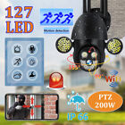 1080P Wireless WIFI IP Camera Outdoor CCTV HD PTZ Smart Home Security IR Cam US