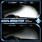 FOR Novsight H7 10000LM 72W 6000K LED Headlight Conversion Car Bulbs Fog Lamp 2X