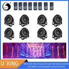 1pc/4pcs/8pcs Par Light RGB Beam Strobe Stage Lighting for Disco DJ KTV Party