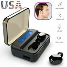 TWS Wireless Earphone Bluetooth Earpieces Stereo Music for iPhone Samsung LG