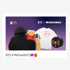 1st PRE-ORDER BTS X McDonald McD Collaboration Official Merch - Released 7/19