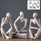 Modern Art Abstract Thinker Thinking Sculpture Statue People Figurine Ornament