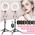 6.6'' LED Studio Dimmable Ring Light Phone bluetooth Selfie Makeup Live  &
