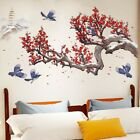 Blossom Flower Chinese Calligraphy Wall Sticker Vinyl Decal Home Decor Art Mural