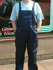 BIB AND BRACE OVERALLS NAVY OR  PAINTERS WHITE POLY/COTTON WORKWEAR