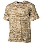 ARMY MARINES COMBAT MENS T-SHIRT MILITARY TOP DIGITAL DESERT MARPAT CAMO S-3XL