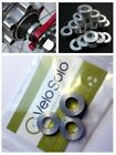 CNC Aluminium M10 Hub Axle SPACER KIT 110 120 126 130mm