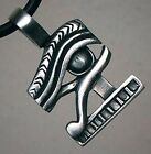 Egyptian hawk God Eye of Horus Ra Re Pagan Wiccan Illuminati PEWTER PENDANT