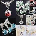 Faceted Crystal Lantern Fantasy Dangle European Beads