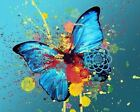 Butterfly Art Canvas Poster Print Artwork