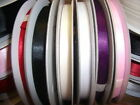 6MM X 25M DOUBLE SIDED LUXURY SATIN RIBBON PICK COLOUR