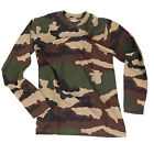 TEE SHIRT MILITAIRE MANCHES LONGUES CAMOUFLAGE AIRSOFT