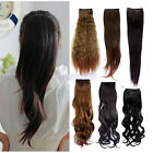 Long Straight/Wavy Ponytail Pony Wig Hair Extension