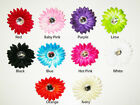 6 Mini Gerbera Rhinestone Daisy Flowers U Pick Color