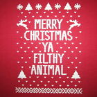 womens ugly christmas sweater t shirt sexy santa claus contest winner party tee