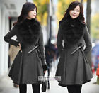 Womens Wool Winter Coat /Jacket S~M #GF011