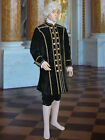 Renaissance or Baroque Royal Frock Coat Handmade from Velvet Lined with Satin
