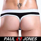 Amazing~Mens sexy low rise Thongs Pouch Mens G string lingerie IN 5Colors