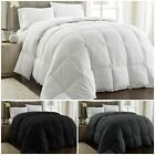 Chezmoi Collection Oversized Goose Down Alternative Comforter Duvet Cover Insert