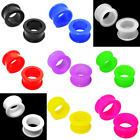 Flexible Ear Plug Stretcher - Silicone Flesh Tunnel - 4mm to 30mm - 8 Colours