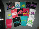 ADIDAS Women's T-Shirts,Cotton & Polyester. all sizes, NWT, MSRP-$20.00