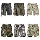 PARATROOPER US ARMY STYLE MENS COMBAT CARGO COTTON WORK HEAVY DUTY SHORTS S-XXL