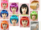 BOBO COSPLAY Wig Short Straight Hair Fancy Dress Holloween Party WIG02 10 colors