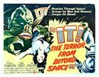 IT! THE TERROR FROM BEYOND SPACE 02 B-MOVIE REPRO ART PRINT CANVAS A4 A3 A2 A1