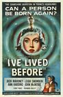 I'VE LIVED BEFORE 01 VINTAGE B-MOVIE REPRODUCTION ART PRINT CANVAS A4 A3 A2 A1
