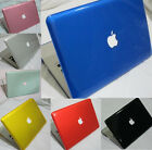 For OLD Macbook white 13'' A1181 Crystal Plastic Hard Case Shell Cover 7colors