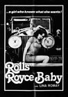 ROLLS ROYCE BABY 01 VINTAGE B-MOVIE REPRODUCTION ART PRINT A4 A3 A2 A1
