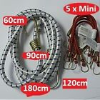 BUNGEE CORDS  Five x Mini or One x 60cm 90cm 120cm 180cm long  heavy duty STRAP