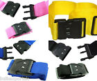 LUGGAGE SUITCASE BAGGAGE STRAP COMBINATION LOCK STRAPS STRONG WIDE ADJUSTABLE