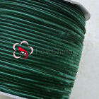 "3mm 1/8"" Hunter Green Velvet Ribbons Craft Sewing Trimming Scrapbooking #165"