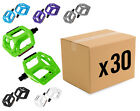 "BULK BUY!!! 30x BMX / MOUNTAIN BIKE ALLOY 9/16"" PEDALS"