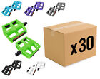 "BULK BUY!!! 30x BMX / MOUNTAIN BIKE PLASTIC 9/16"" PEDALS"