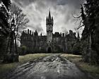 Castle Of Decay Art Canvas Poster Print Artwork New