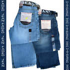 Fake Blue Boot Cut Jeans Size 28 30 32 34 36 38 40 stonewash super fade 3 leg ln