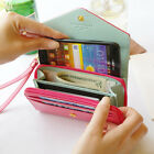 Apple iPhone/Galaxy S/Smart Phone Case Card Coin Wallet_Crown Smart Pouch K