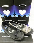 """Start-Rite """"Angry Angels"""" Girls Black or Pewter Plims """"DIVA"""""""