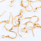 500pcs Wholesale Lots Gold/Silver/Copper Plated Earring Hooks Beads Finding